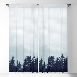 Morning Blue in the Woods #1 #wall #art #photography #society6 Blackout Curtain