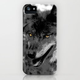 Alpha Male Wolf iPhone Case