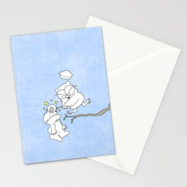Mr. Owl's Revenge Stationery Cards