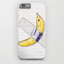 Funny Banana Art iPhone Case