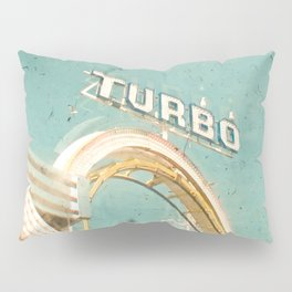 Roller Coaster Pillow Sham