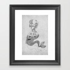 Geisha Siren Framed Art Print