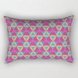 Magic Triad Pattern 2 Rectangular Pillow