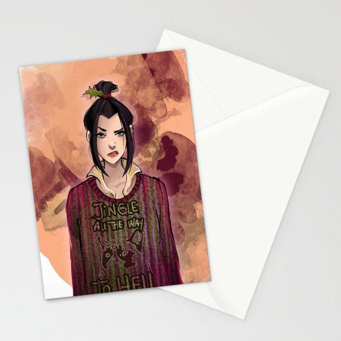Jingle bells Stationery Cards