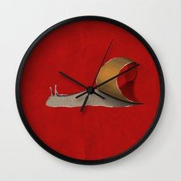snail Wall Clock