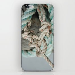 TIED TO THE MOORING #1 iPhone Skin