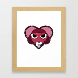 Angry Space Frogs Need Love Too. Framed Art Print