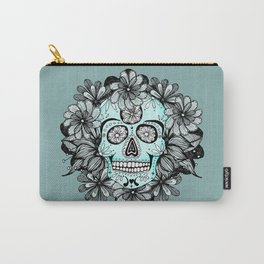Blue Sugar Carry-All Pouch