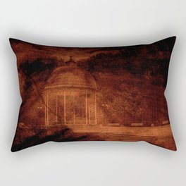 Hold back the nightmare... Rectangular Pillow
