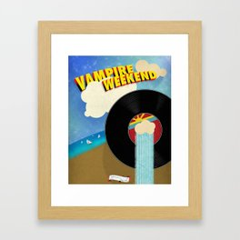 Vampire Weekend - Chicago Framed Art Print