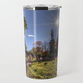 Civil War Monument Sleepy Hollow Travel Mug