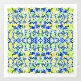Mosaics Magic Art Print