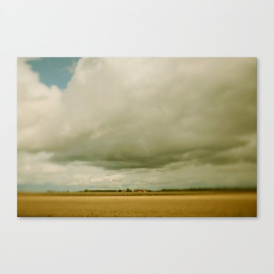 Flatlands  Canvas Print
