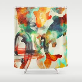 Life Cycle Shower Curtain