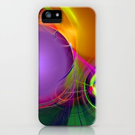 Gravitational Attraction iPhone Case
