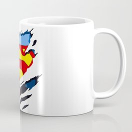 superhero torn - SuperMan Coffee Mug