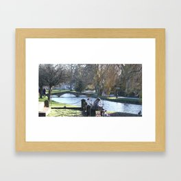 Typical British Sunday Framed Art Print