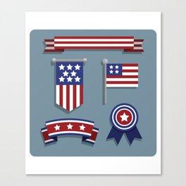 Happy Veterans Day 4 Canvas Print