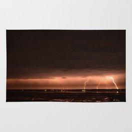 Late Winter Lightning Rug