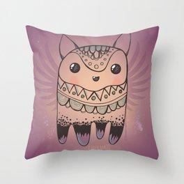 Jelly Fox Throw Pillow