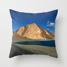 Road to the Blue! Throw Pillow