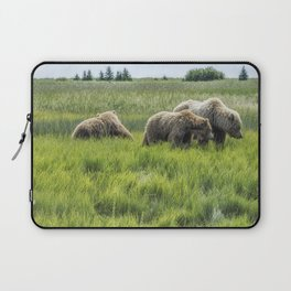 A Mother and Her Two Cubs, No. 2 Laptop Sleeve