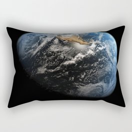 NASA Hubble Space Telescope Poster - Hubble Views of the Universe - Earth Rectangular Pillow
