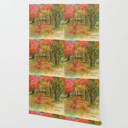 Autumn Woodlands Wallpaper