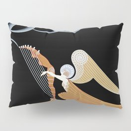 "Art Deco Design ""The Angel"" Pillow Sham"