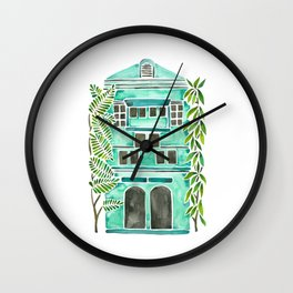 The Grotto – Mint Palette Wall Clock