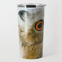 Eurasian Eagle Owl Travel Mug
