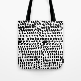 Flowing dots 02 Tote Bag