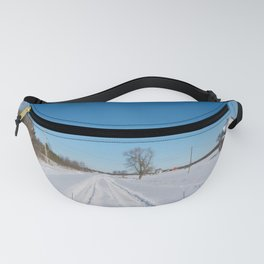 morning after the snowstorm Fanny Pack