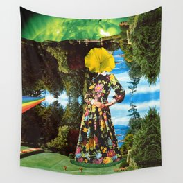 In the Garden Wall Tapestry
