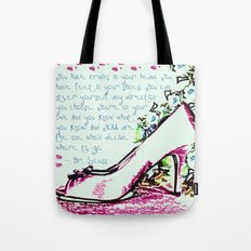Made For Walkin' Tote Bag