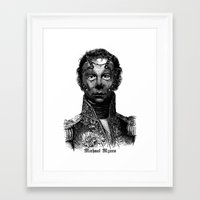 michael myers Framed Art Prints featuring Michael Myers by DIVIDUS DESIGN STUDIO