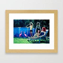 Raquel Framed Art Print