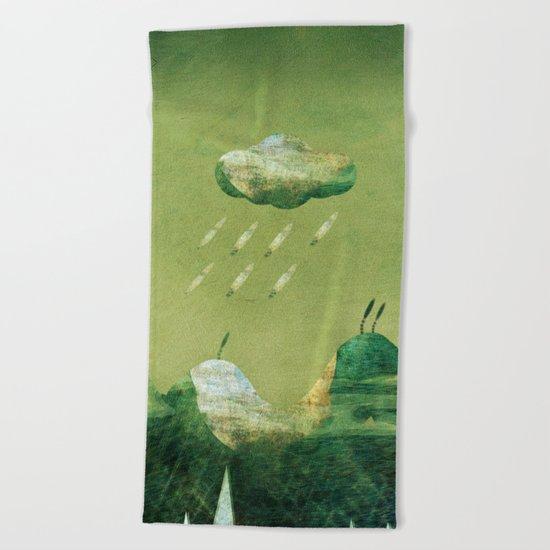 Stormy Weather... Beach Towel