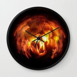 HellFire 002 Wall Clock