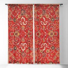Isfahan Antique Persian Carpet Print Blackout Curtain
