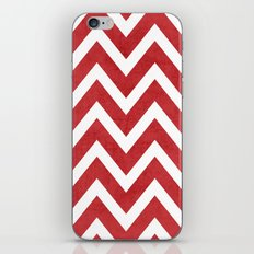 red chevron iPhone & iPod Skin