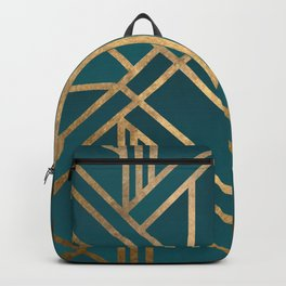 Art Deco Graphic No. 213 Backpack