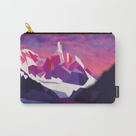 Night Mountains No. 12 Carry-All Pouch