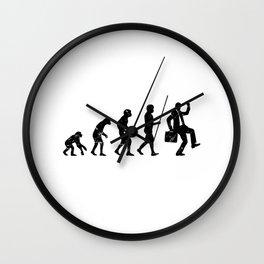 Work Evolution Wall Clock