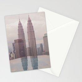 Petronas Twin Towers Kuala Lumpur Stationery Cards