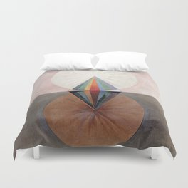 Hilma af Klint Group IX/SUW The Swan No. 12 Duvet Cover