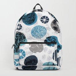 Blue Pebbles Backpack