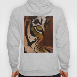 Bengal Tiger Portrait Hoody