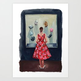 Silicates Art Print