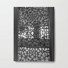 Lattice Work Metal Print